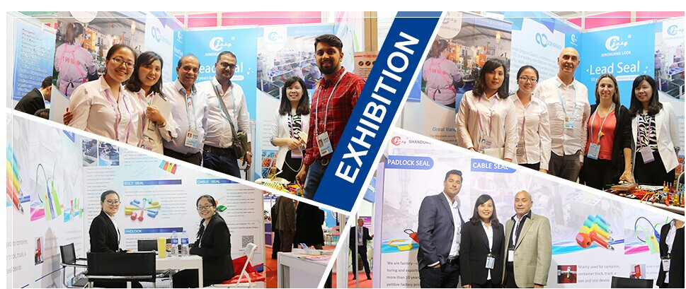Employee in exhibition for shanghai