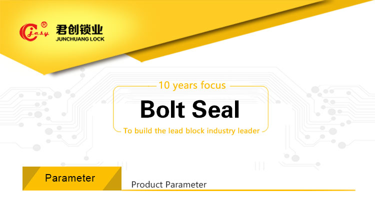 High security shipping container seals low price heavy duty bolt seals