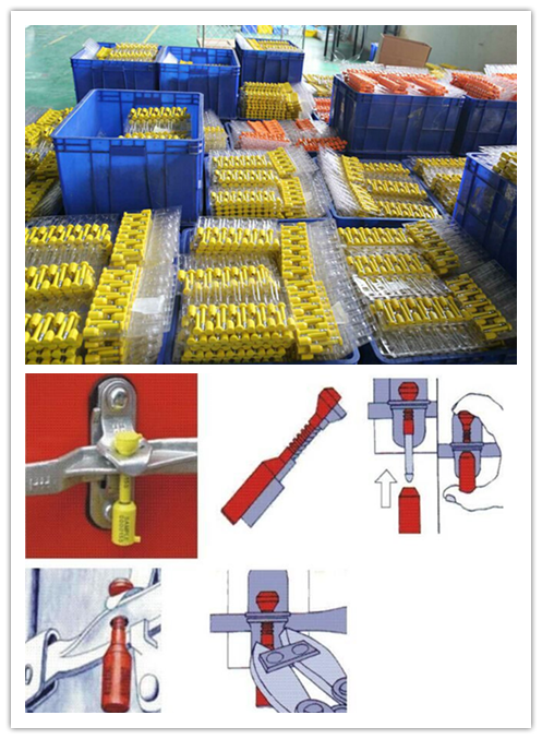 bolt seal packing and used