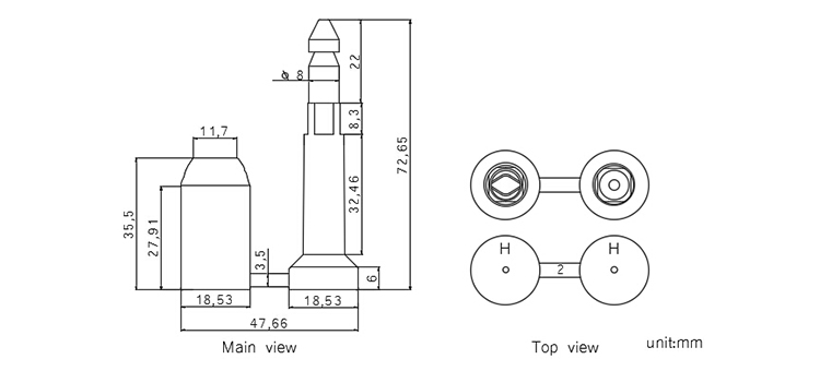 bolt seal CAD