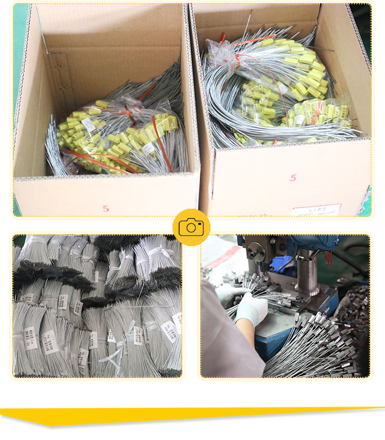 cable seal packaging and workshop