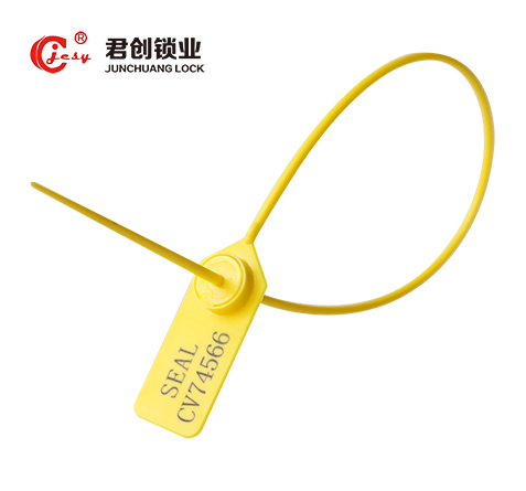 yellow pull tight plastic seal